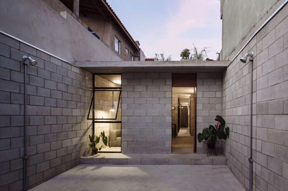 Casas charmosas sem pintura 011
