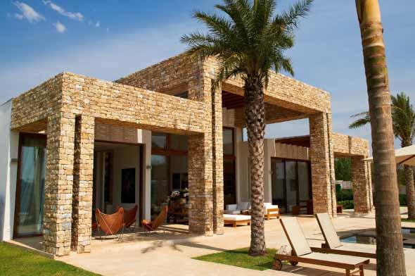 Casas charmosas sem pintura 012