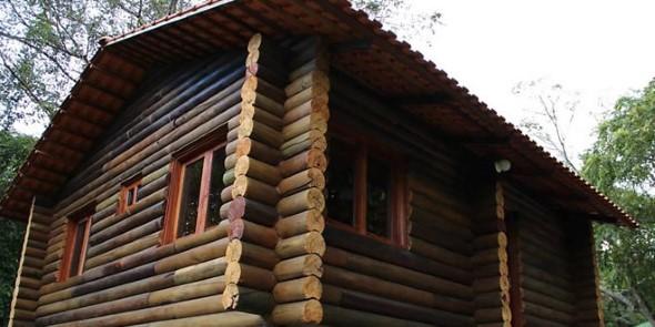 Casas charmosas sem pintura 017