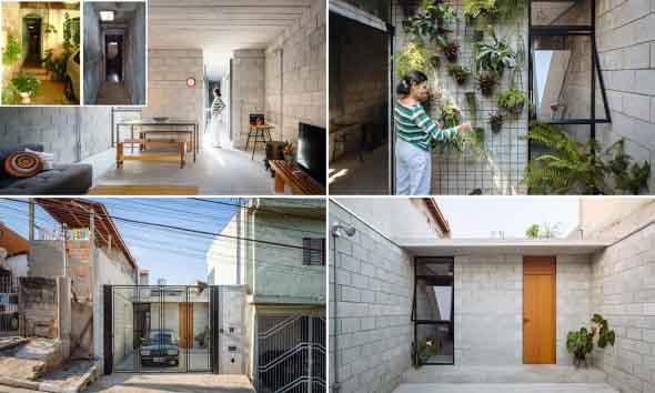 Casas charmosas sem pintura 020