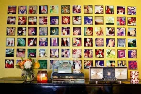 Decore seu quarto com fotos e revistas variadas 006