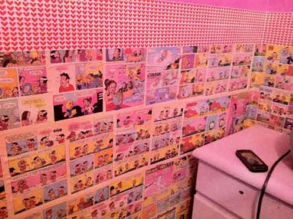 Decore seu quarto com fotos e revistas variadas 008