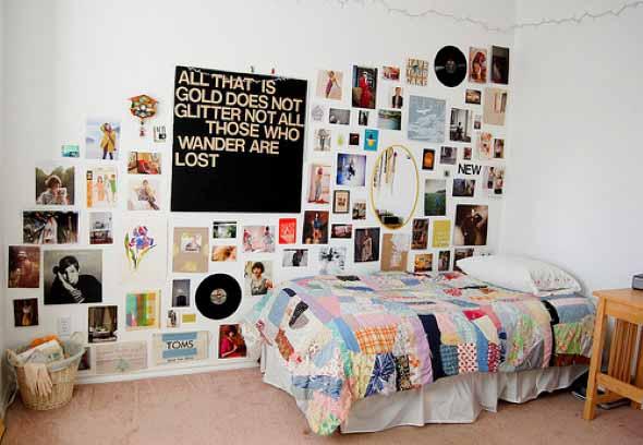 Decore seu quarto com fotos e revistas variadas 014