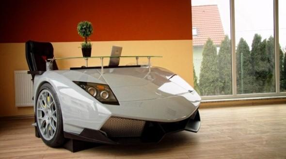 Design retrô com carros antigos na decoração 017