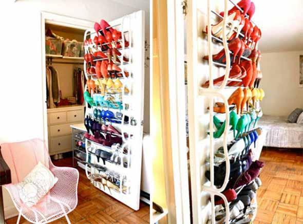 Formas criativas para aumentar o espaço dos armários 015