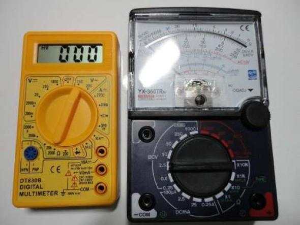 Como medir corrente elétrico com multímetro 004
