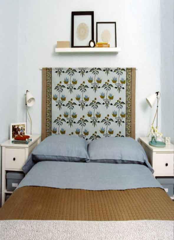 Decoração com tapeçarias nas paredes 006