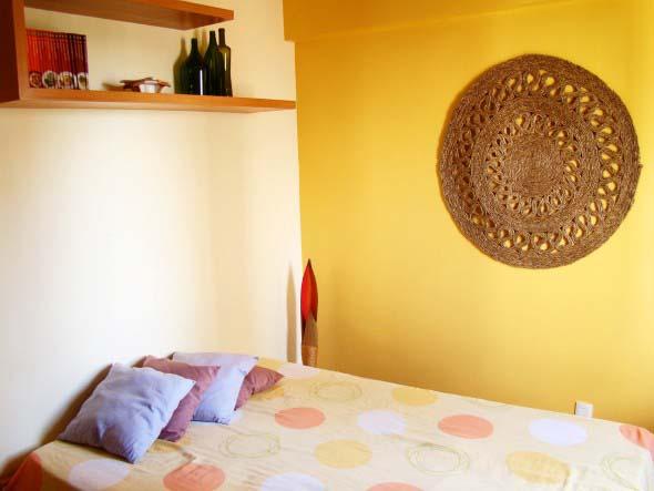 Decoração com tapeçarias nas paredes 013