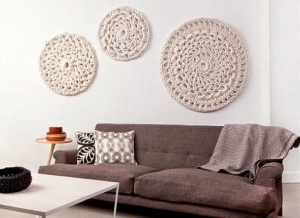Decoração com tapeçarias nas paredes 014