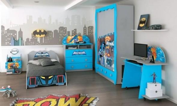 Decoração criativa no quarto das crianças 003