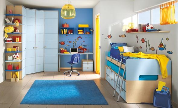 Decoração criativa no quarto das crianças 004