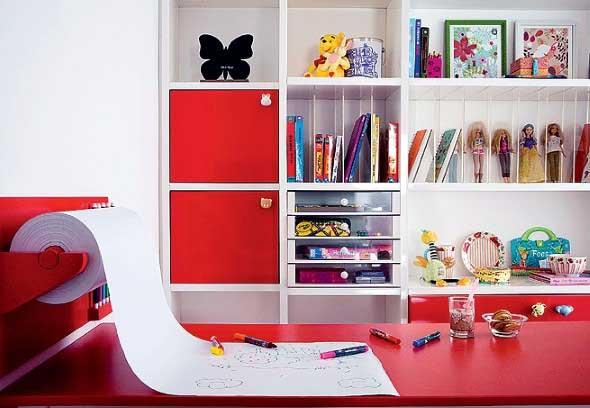 Decoração criativa no quarto das crianças 015