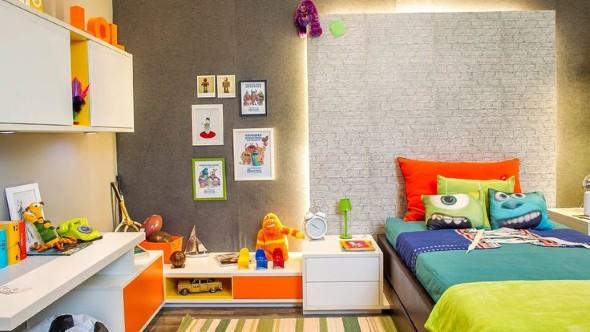 Decoração criativa no quarto das crianças 018