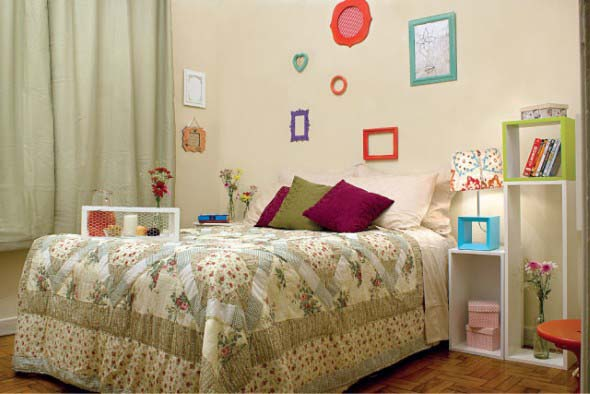 Dicas de decoração para quarto de solteira 003