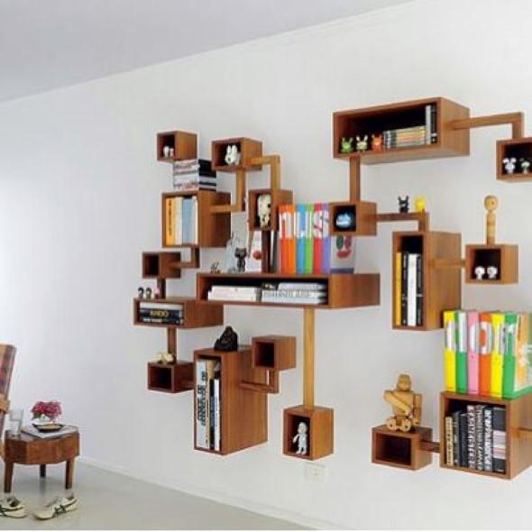 Nichos criativos para sua sala de estar 002