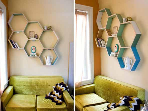 Nichos criativos para sua sala de estar 007