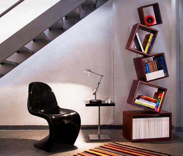 Nichos criativos para sua sala de estar 008
