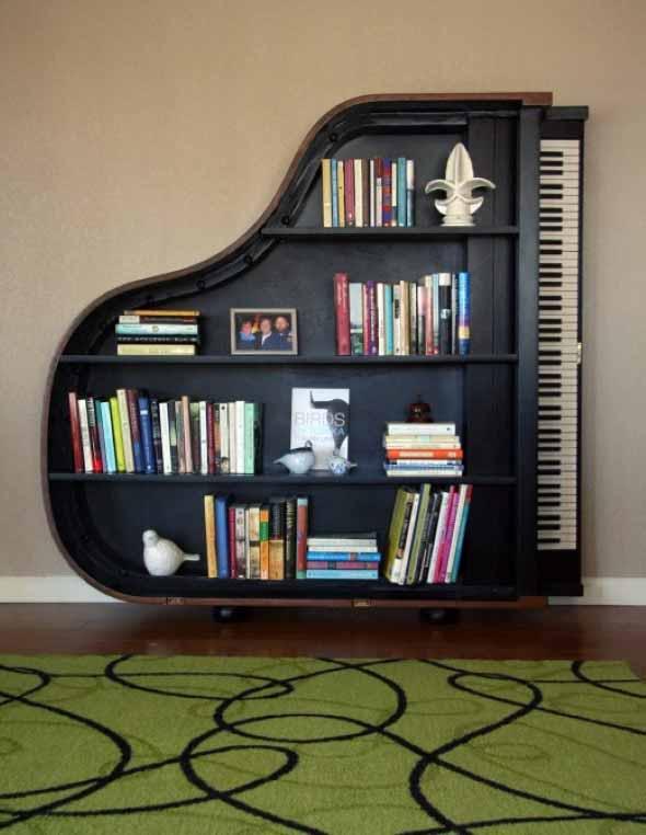 Nichos criativos para sua sala de estar 009