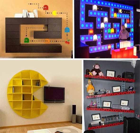 Nichos criativos para sua sala de estar 012