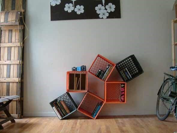 Nichos criativos para sua sala de estar 018