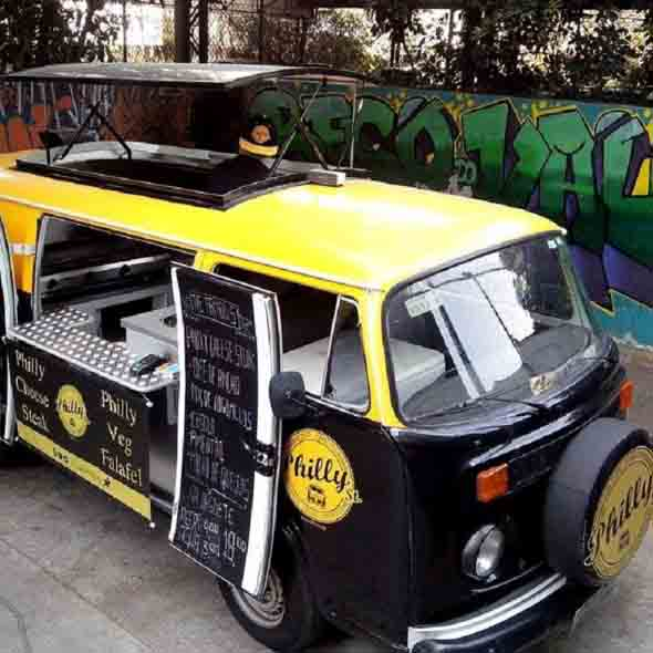 Todo o charme da Kombi Food Truck 006