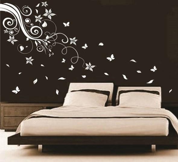 Todo o charme das paredes pretas na decoração 019