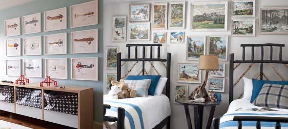 21 Ideias de decoração com quadros para sua casa 016