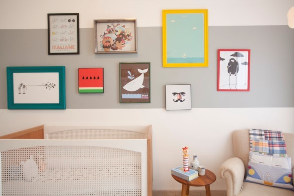 21 Ideias de decoração com quadros para sua casa 018