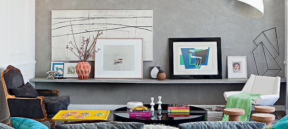 21 Ideias de decoração com quadros para sua casa 020