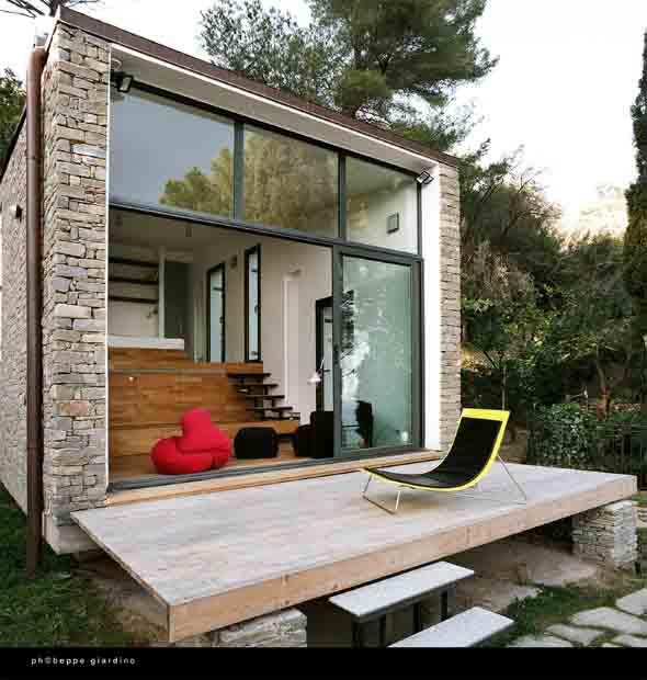 Casas pequenas, mas muito confortáveis 014
