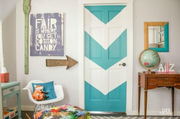 Cores das portas podem fazer diferença na decoração 015