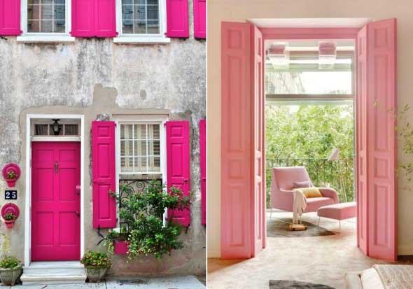 Cores das portas podem fazer diferença na decoração 019