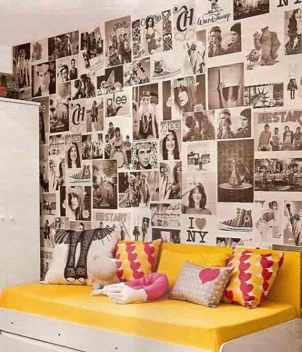 Ideias criativas e baratas para decorar parede 002