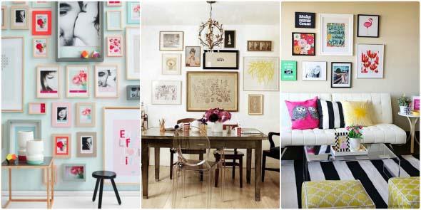 Ideias criativas e baratas para decorar parede 006
