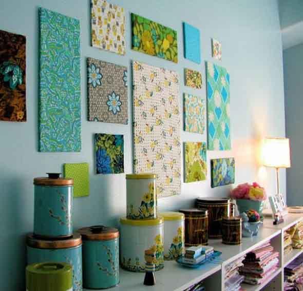 Ideias criativas e baratas para decorar parede 008