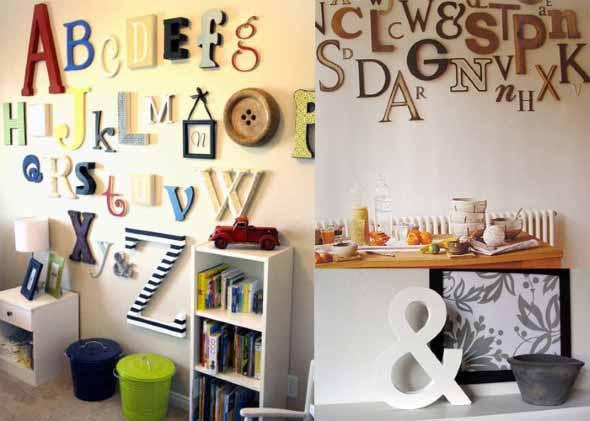 Ideias criativas e baratas para decorar parede 009