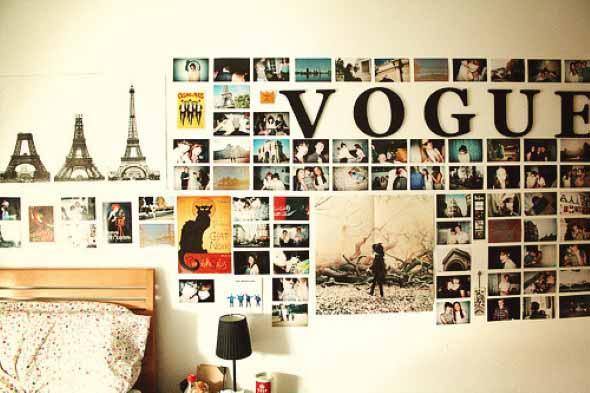 Ideias criativas e baratas para decorar parede 010