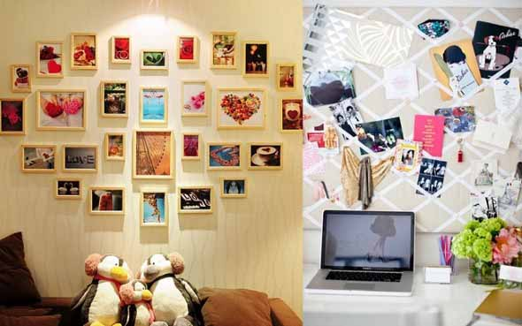 Ideias criativas e baratas para decorar parede 011
