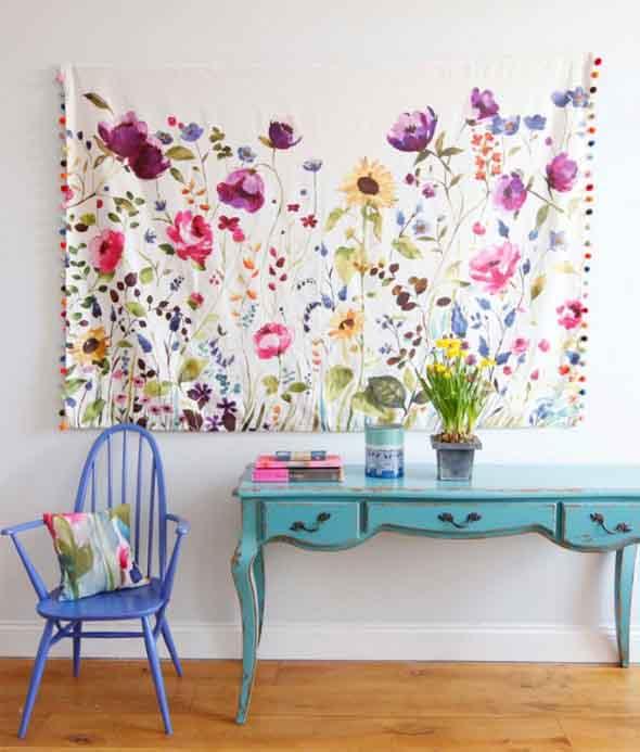 Ideias criativas e baratas para decorar parede 018