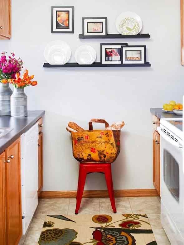 Quadros na decoração da cozinha 003