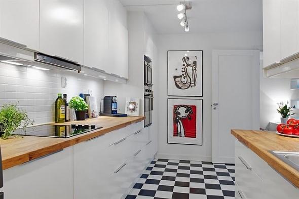 Quadros na decoração da cozinha 012