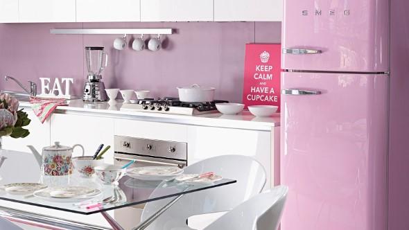 Quadros na decoração da cozinha 016