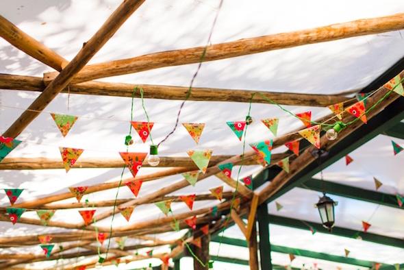 bandeirolas casamento