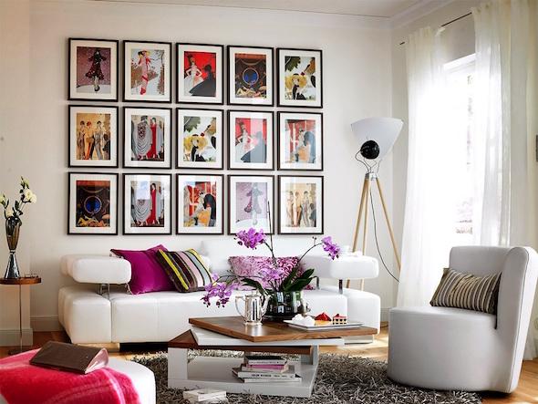decorar com quadros 1