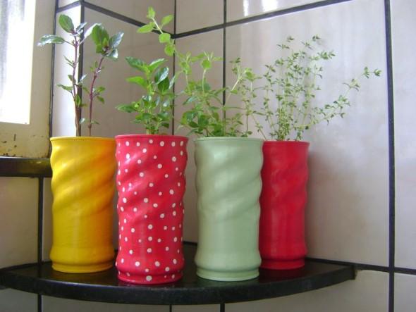 17 Modelos de vasos artesanais para decoração 013