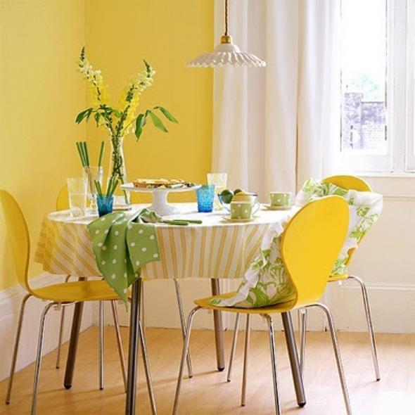 Amarelo na decoração 003
