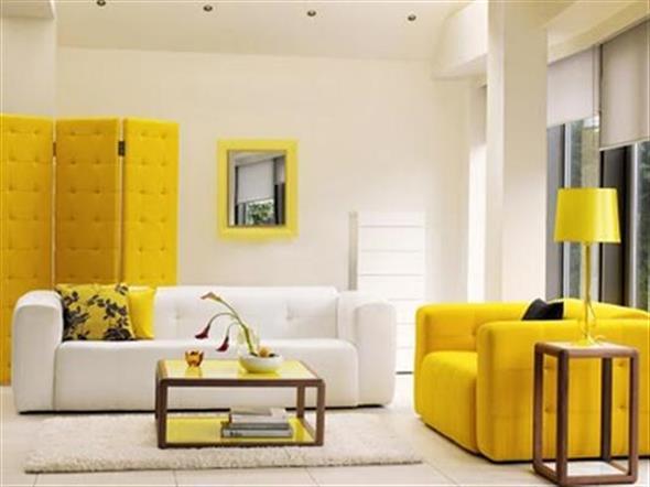 Amarelo na decoração 006