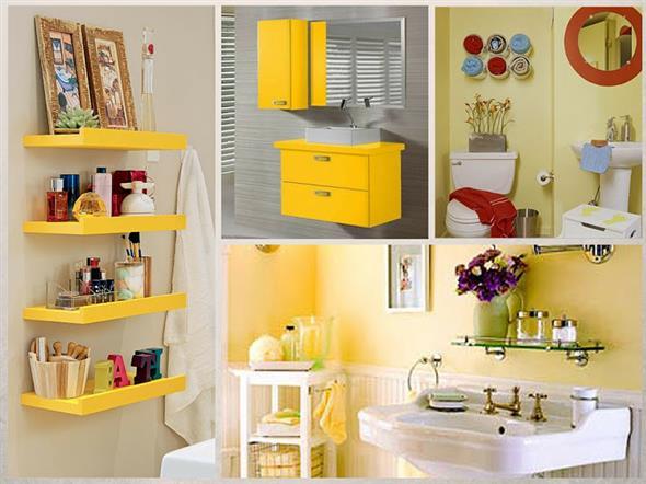 Amarelo na decoração 011