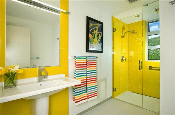 Amarelo na decoração 012