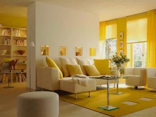 Amarelo na decoração 013
